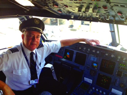 Captain James Ray Cockpit