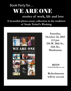 October 24 WAO book party